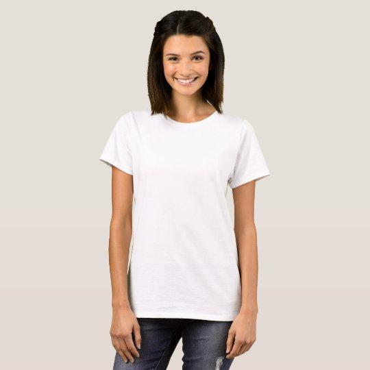Camiseta Feminina Básica, Branco