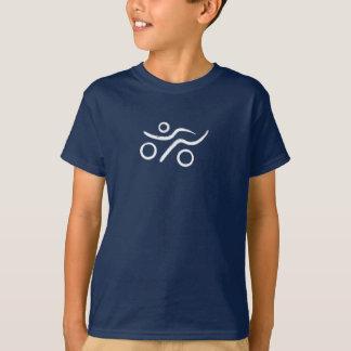 Camiseta Grande logotipo do Triathlon