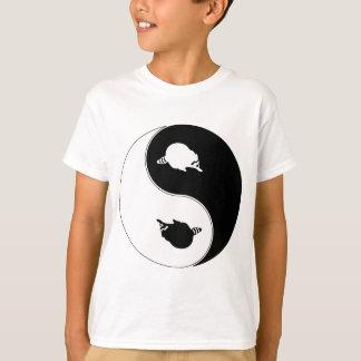 Camiseta Guaxinim de Yin Yang