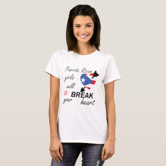 Camiseta Heartbreaker porto-riquenho