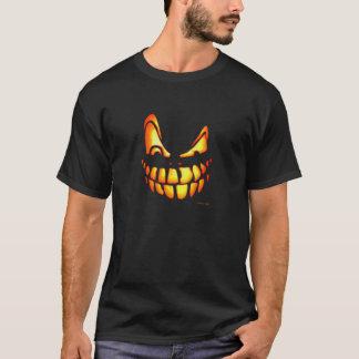 Camiseta Hmmm - cara assustador da abóbora