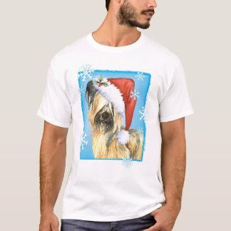 Camiseta Howlidays feliz Skye Terrier