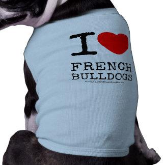 Camiseta I Love My Frenchie