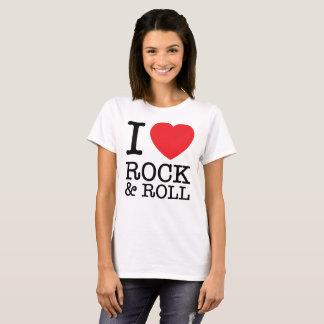 Camiseta I Love Rock