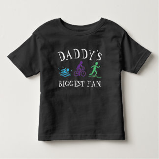 Camiseta Infantil A raça a mais grande do Triathlon do funcionamento