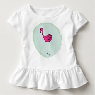 Camiseta Infantil Corpete de babado