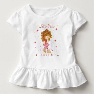 Camiseta Infantil ~ do design de caráter que aumenta Maddie - botas