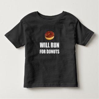 Camiseta Infantil Funcionará para rosquinhas