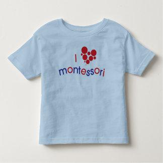Camiseta Infantil Mim T da criança de <3 Montessori