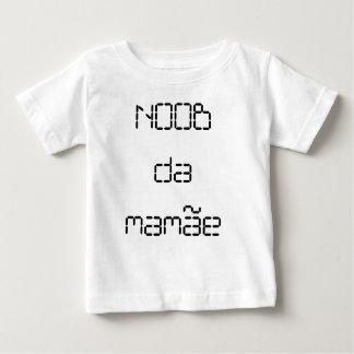 Camiseta Infantil - Noob da Mamâe