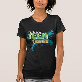 Camiseta Inverse Center adolescente do logotipo de Niles