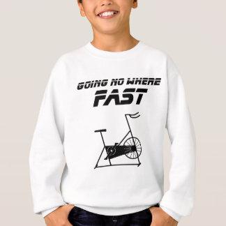 Camiseta Ir nenhum onde rápido