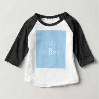 Camiseta it´s um menino