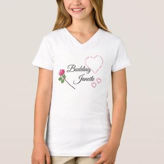 Camiseta Janeite de brotamento