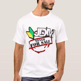 Camiseta JDM nunca para a venda (luz)