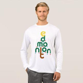 Camiseta Jérsei da árvore de Natal