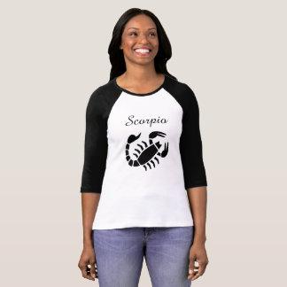 Camiseta Jérsei do sinal do zodíaco da astrologia da