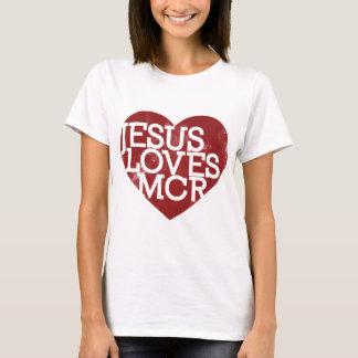 Camiseta Jesus ama MCR - vermelho
