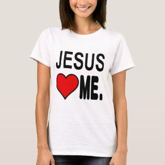 Camiseta Jesus ama-me presentes de Jesus