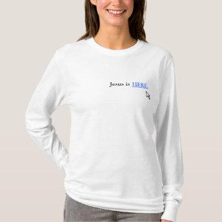 Camiseta Jesus está AQUI