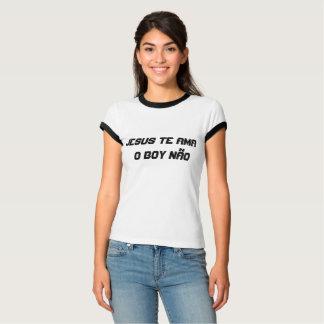 camiseta - jesus te ama, o boy não