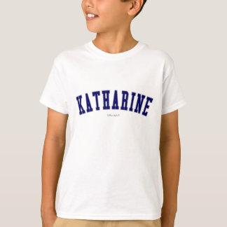 Camiseta Katharine