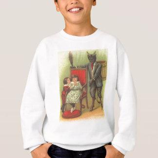 Camiseta Krampus que vem para crianças más