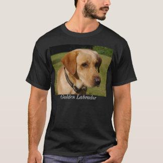 Camiseta Labrador dourado