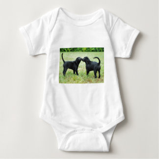 Camiseta Labrador retriever preto