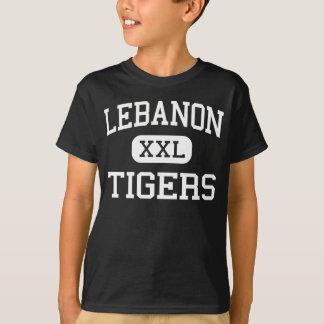 Camiseta Líbano - tigres - segundo grau - Líbano Indiana
