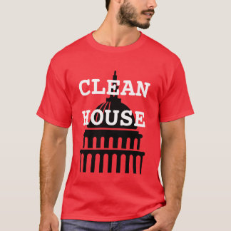Camiseta Limpe a casa