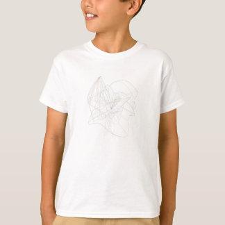 Camiseta Linhas de roda abstratas do complexo