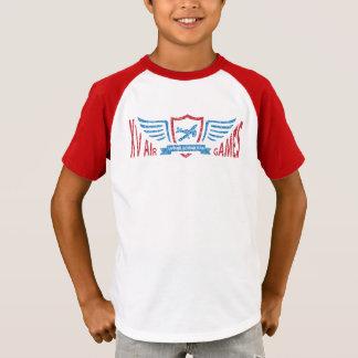 Camiseta Logotipo imaginário da aviação do vintage - o