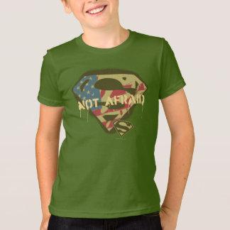 Camiseta Logotipo nao receoso do S-Protetor | do superman