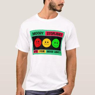 Camiseta Logotipo temperamental horizontal do sinal de