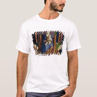 Camiseta Madonna com santo Nicholas de Bari