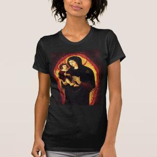 Camiseta Madonna e criança