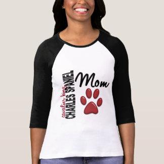 Camiseta Mamã descuidado 2 do Spaniel de rei Charles