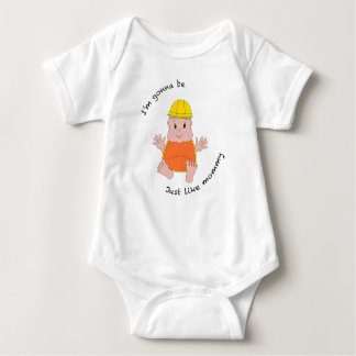 Camiseta Mamães do trabalhador da construção