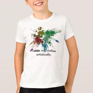 Camiseta Mancha artística