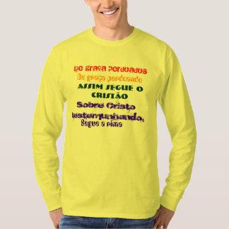 Camiseta Manga Longa Personalizada Segue a Rima