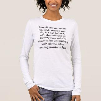 Camiseta Manga Longa Registro-wa