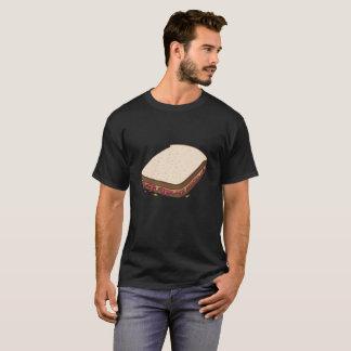 Camiseta Manteiga de amendoim & sanduíche da geléia do doce