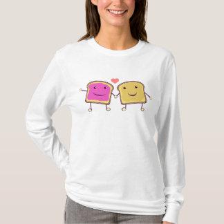 Camiseta Manteiga e geléia de amendoim