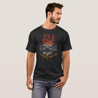 Camiseta Mantenha a calma porque seu nome é GILLIS.