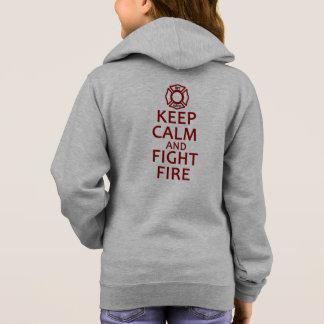 Camiseta Mantenha fogo calmo e da luta