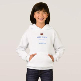 Camiseta Mantenha hoody calmo