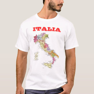 Camiseta Mapa de Italia