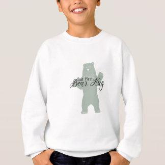 Camiseta Mas primeiramente, abraço de urso