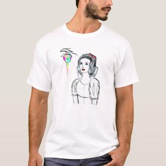 Camiseta masculina Branca de Neve